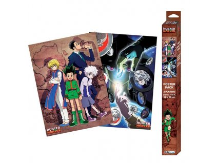hunter x hunter groups posters 2 pack 3665361065739