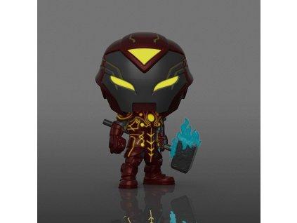funko pop infinity warps iron hammer glows in the dark special edition 889698563390