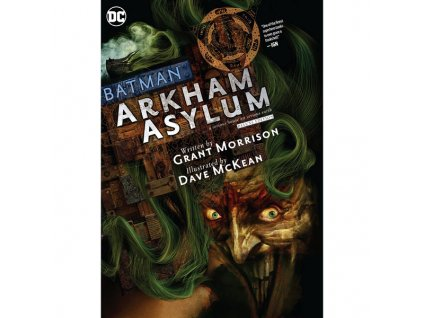 batman arkham asylum the deluxe edition 9781779513175