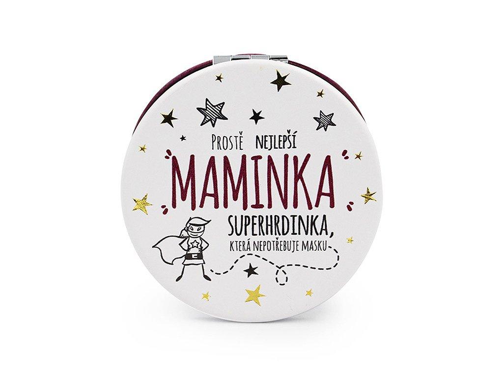 Kapesní zrcátko Nejlepší maminka superhrdinka