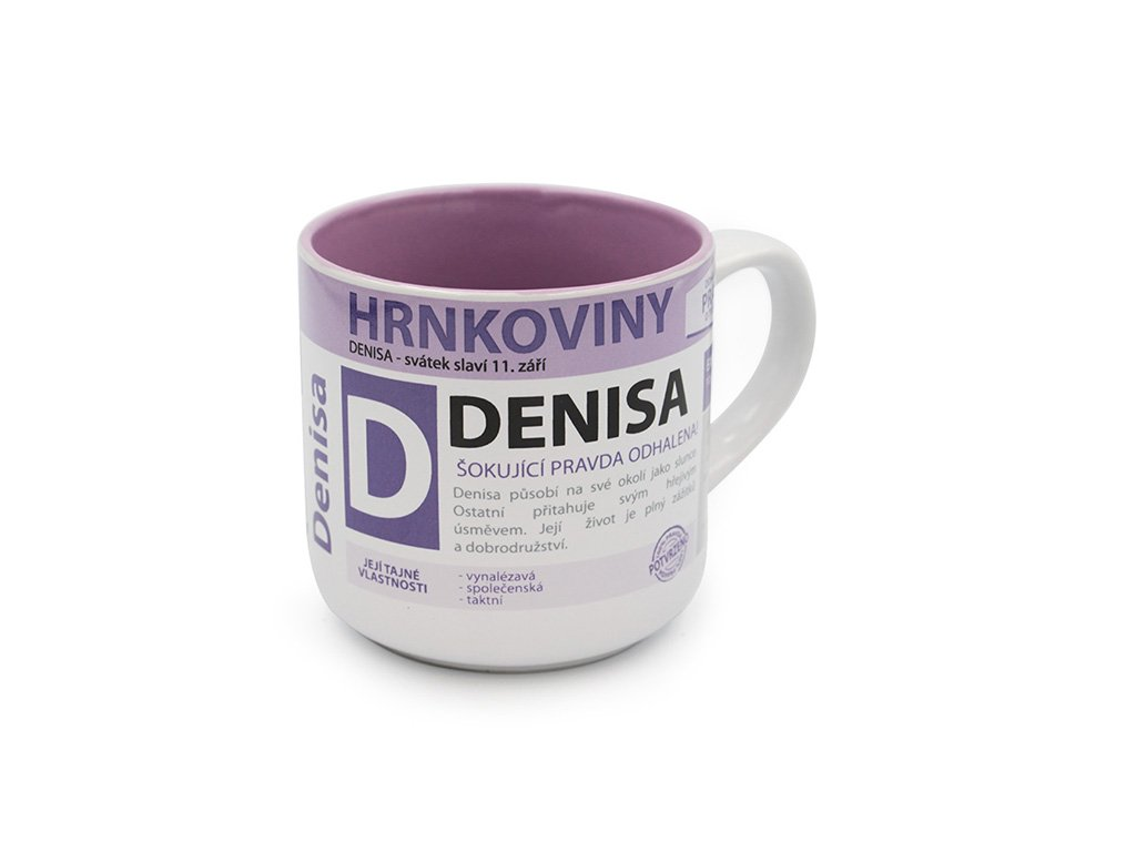 Hrnek se jménem DENISA Hrnkoviny