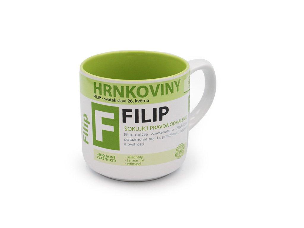 Hrnek se jménem FILIP Hrnkoviny