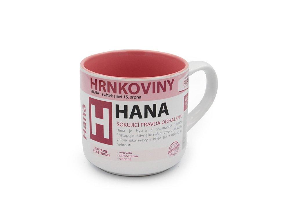 Hrnek se jménem HANA Hrnkoviny