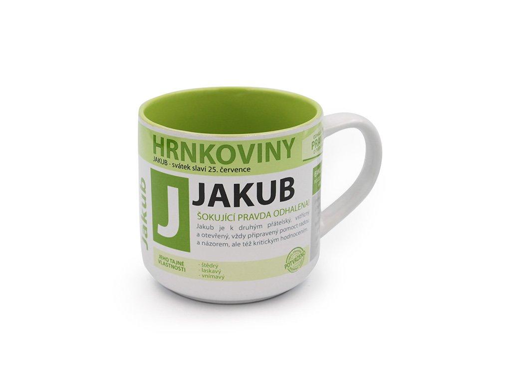 Hrnek se jménem JAKUB Hrnkoviny
