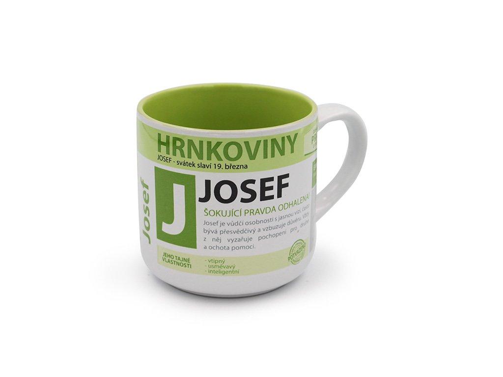 Hrnek se jménem JOSEF Hrnkoviny