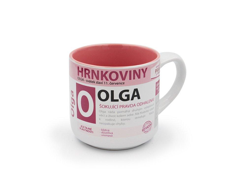 Hrnek se jménem OLGA Hrnkoviny