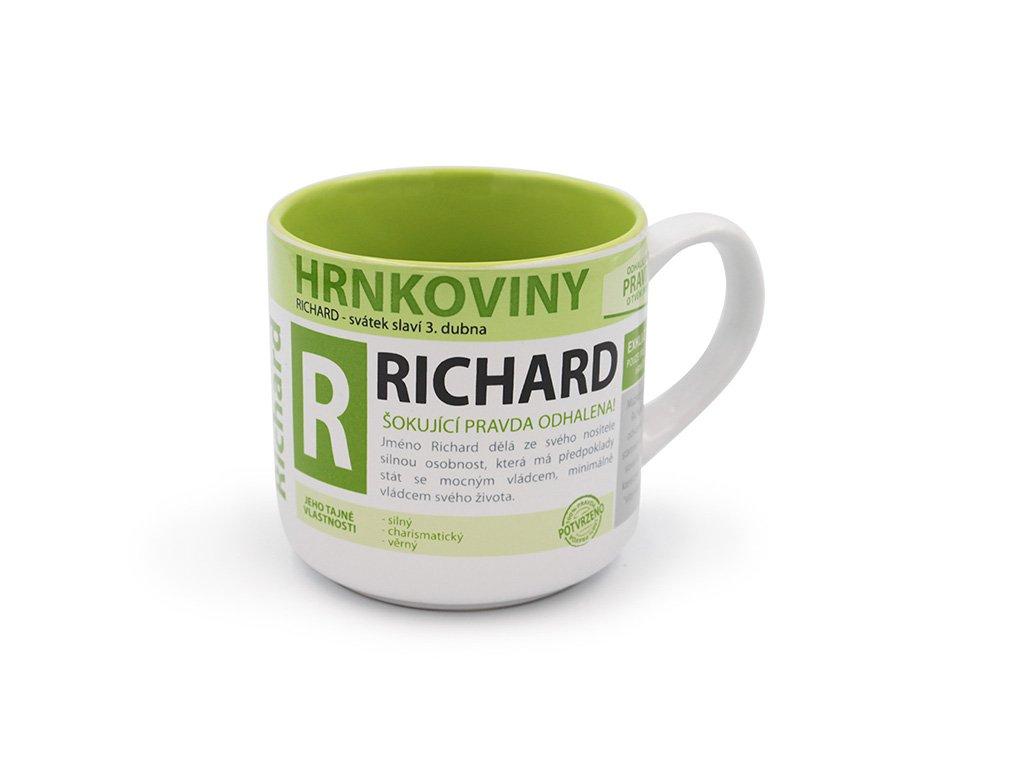 Hrnek se jménem RICHARD Hrnkoviny