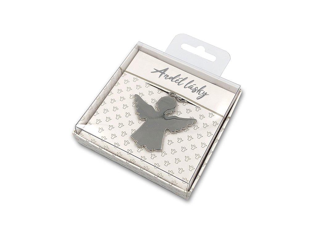 Dárková klíčenka Anděl lásky