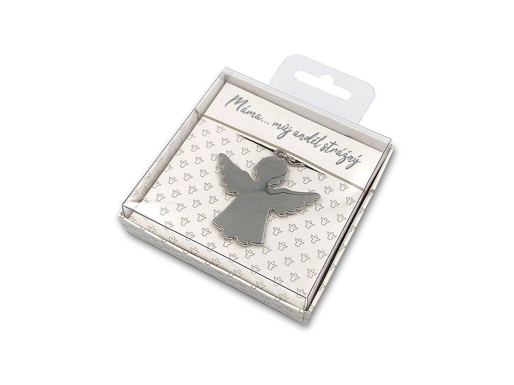 Dárková klíčenka Máma… můj anděl strážný