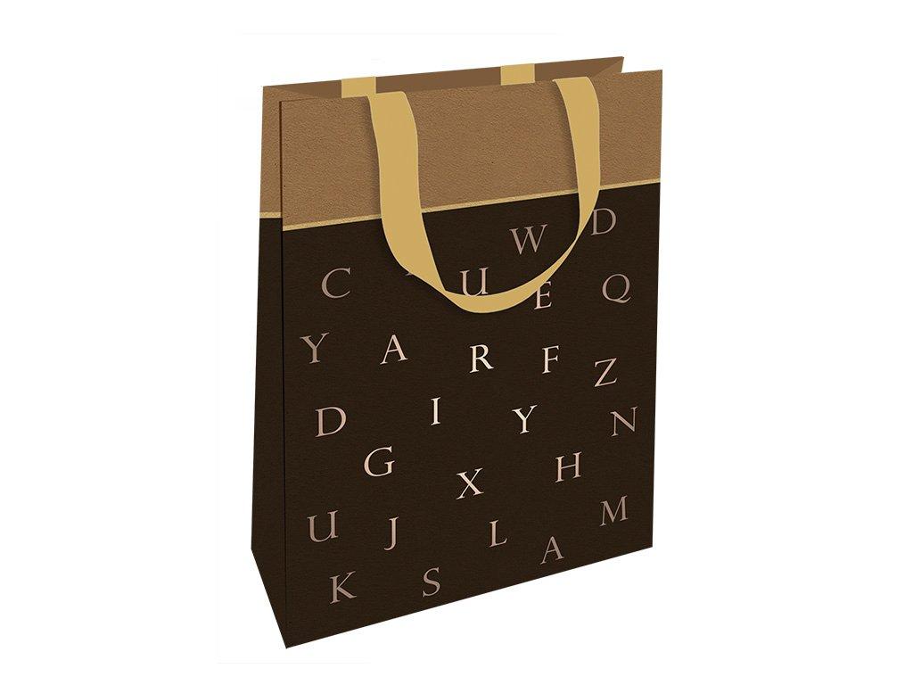 Dárková taška Klíčenky pro štěstí, černá