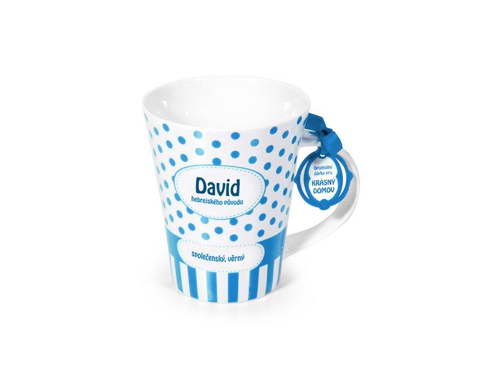 Hrnek se jménem DAVID Krásný domov