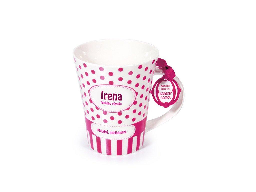 Hrnek se jménem IRENA Krásný domov