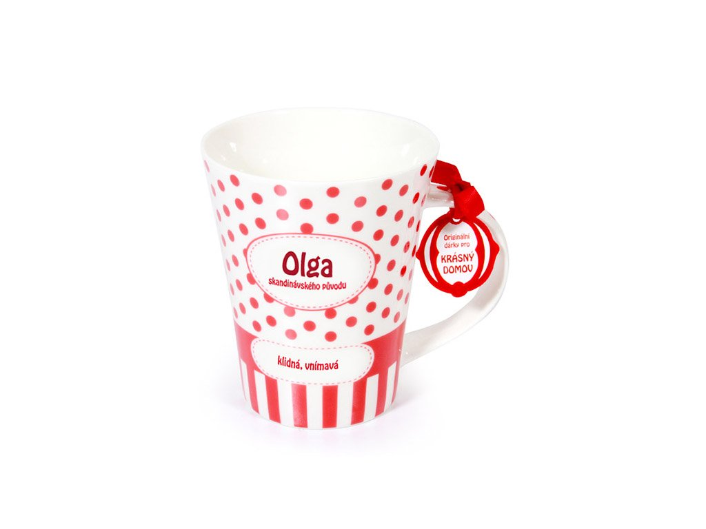 Hrnek se jménem OLGA Krásný domov