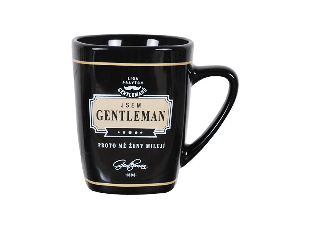 Hrnek na kávu Gentlemana ženy milují