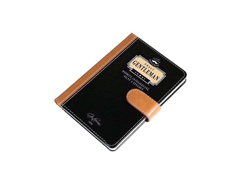 Luxusní zápisník Pravý gentleman