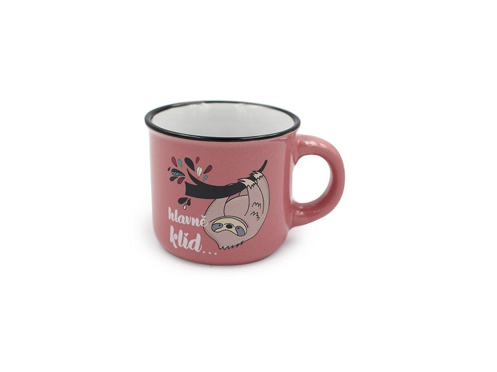 Mini hrneček na kávu Hlavně klid