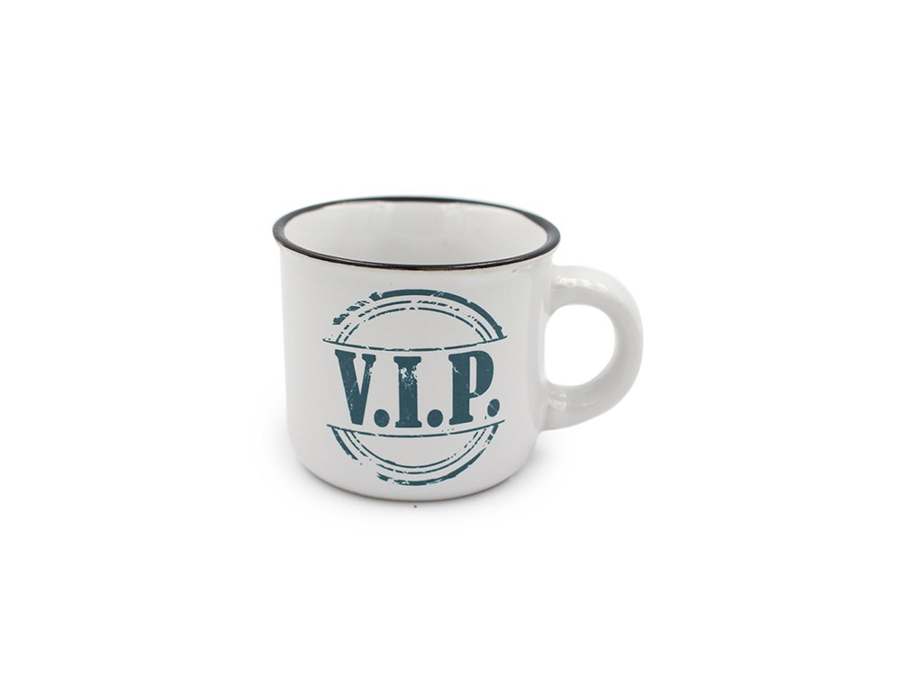Mini hrneček na kávu V.I.P.