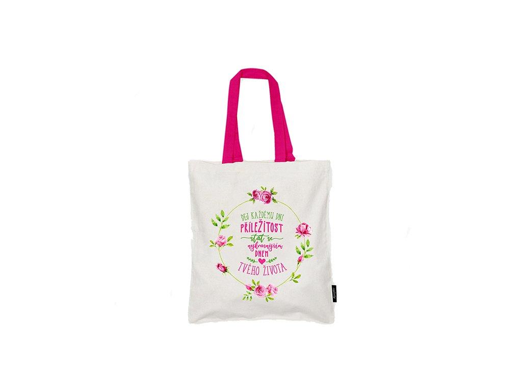 Nákupní taška Nejkrásnější den Neplastuj