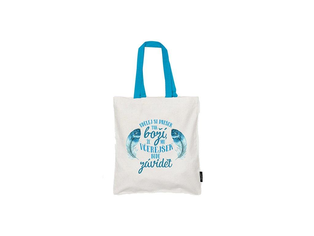 Nákupní taška Boží dnešek Neplastuj