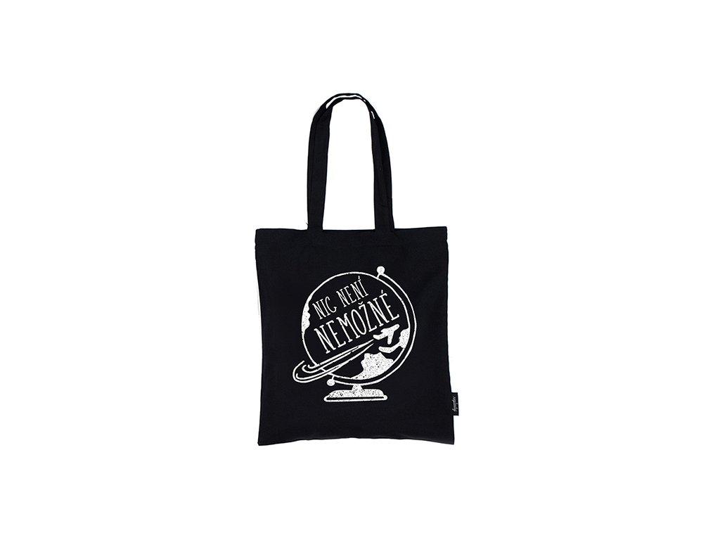 Nákupní taška Nic není nemožné Neplastuj
