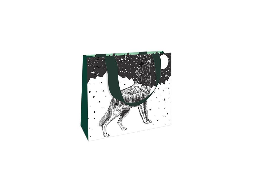 Dárková taška střední Vlk