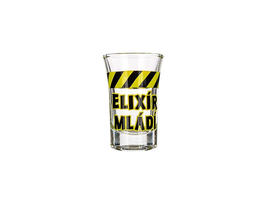 Vtipný panák Elixír mládí