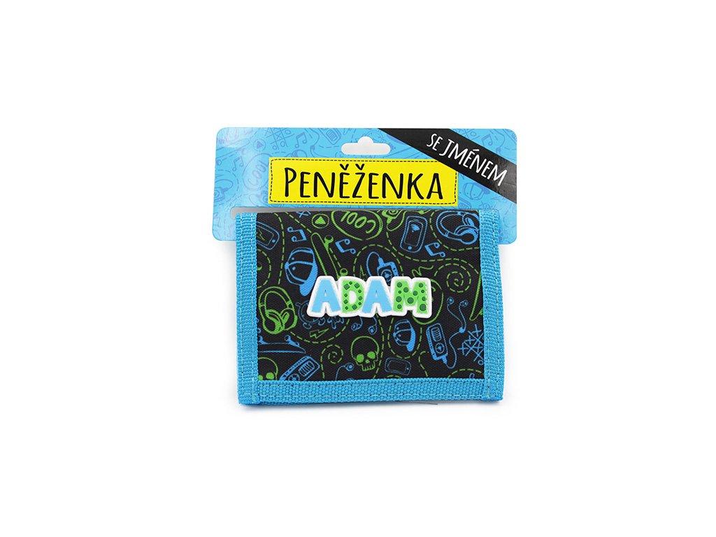 Dětská peněženka se jménem ADAM