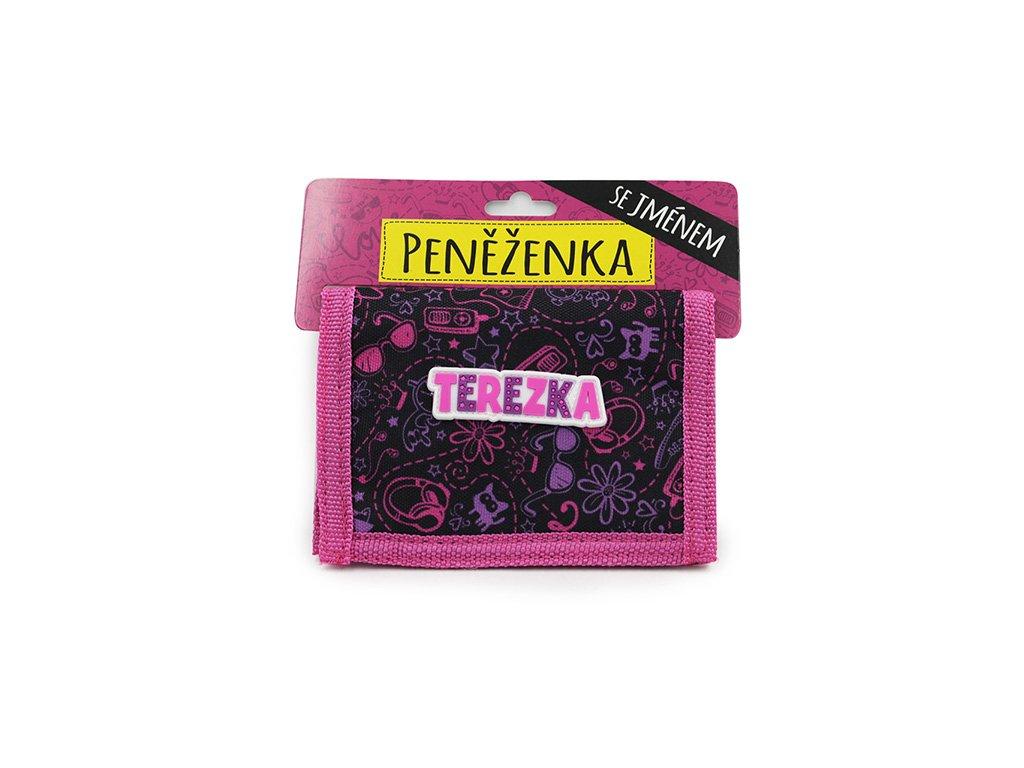 Dětská peněženka se jménem TEREZKA