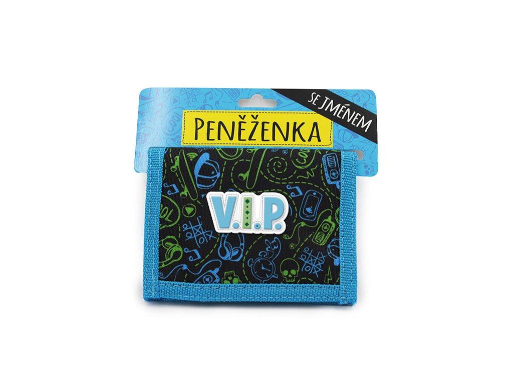 Dětská peněženka modrá V.I.P.