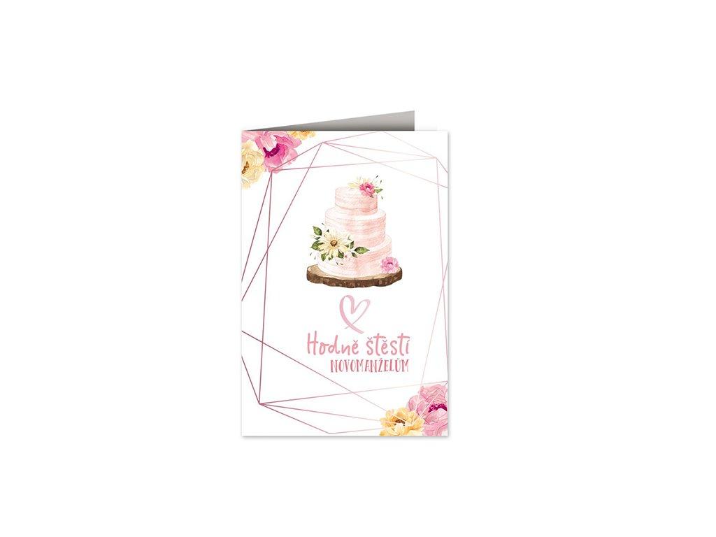 Svatební přání Svatební dort