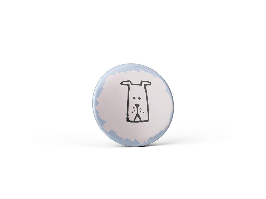 Vtipný magnet s potiskem Pes