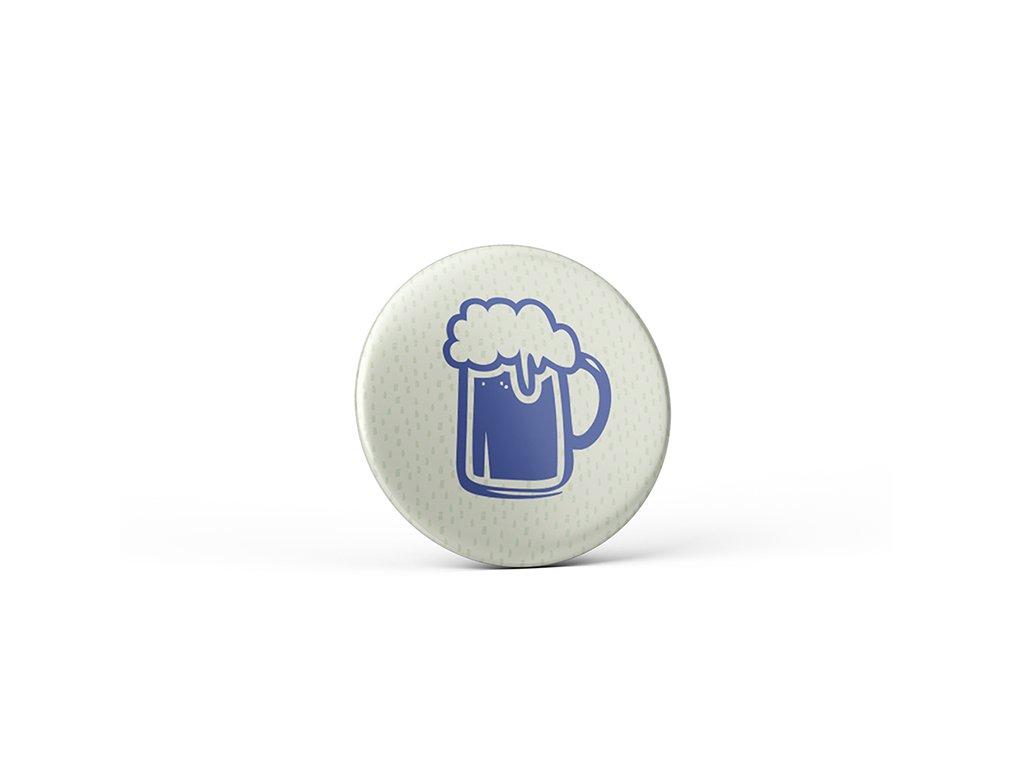 Vtipný magnet s potiskem Pivo