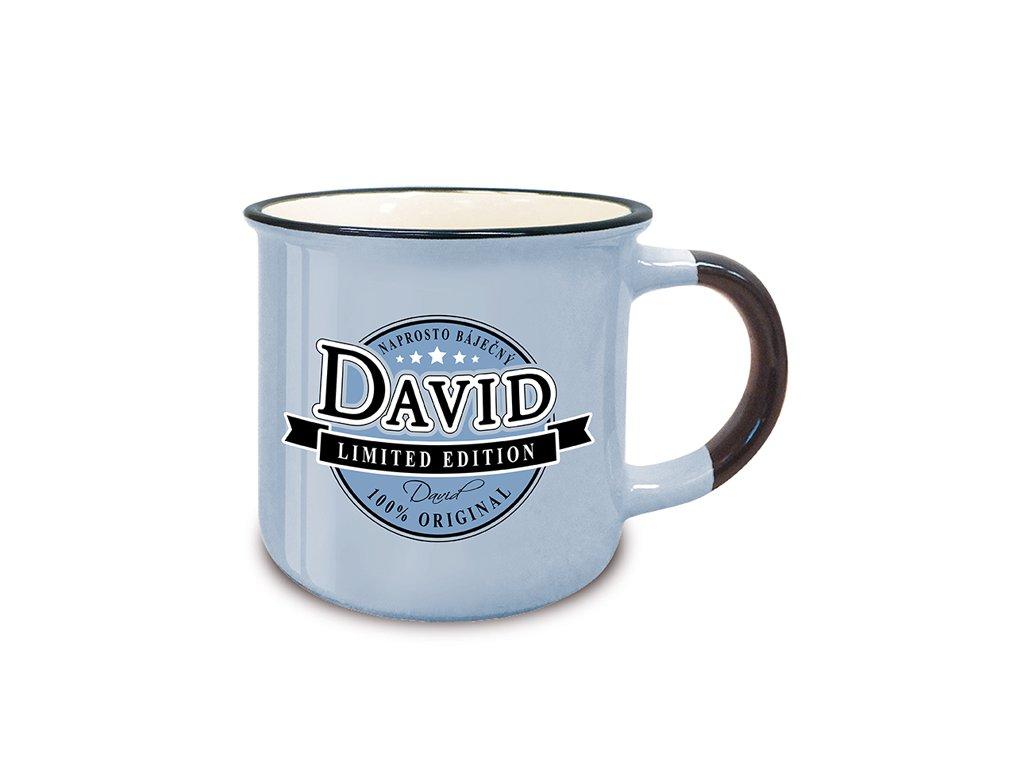 Hrnek se jménem DAVID Retro