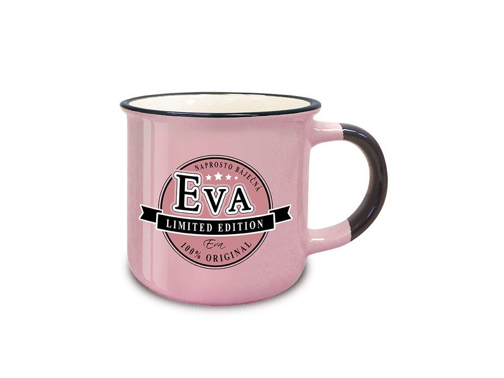 Hrnek se jménem EVA Retro