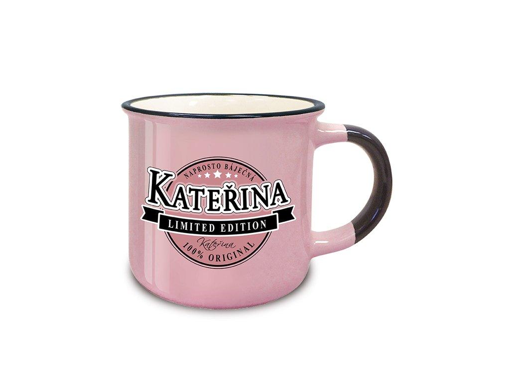 Hrnek se jménem KATEŘINA Retro