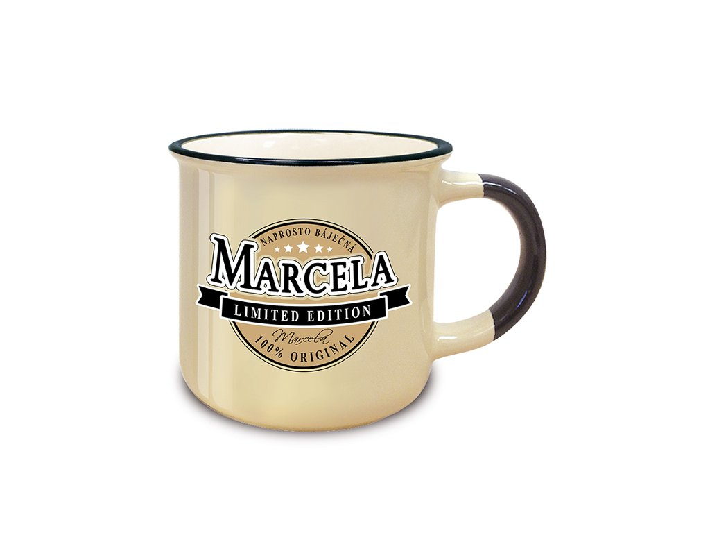 Hrnek se jménem MARCELA Retro