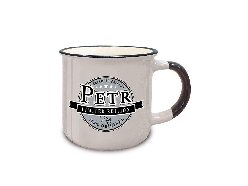 Hrnek se jménem PETR Retro