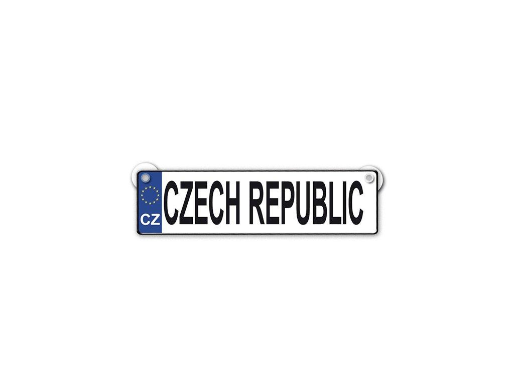 Originální SPZ cedulka Czech republic