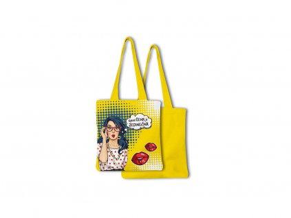 Nákupní taška skládací Pop art Buď jedinečná