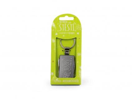 Kapesní nožík na klíče Pro štěstí