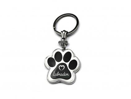 Klíčenka se psem Labrador