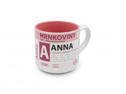 Hrnek se jménem ANNA Hrnkoviny