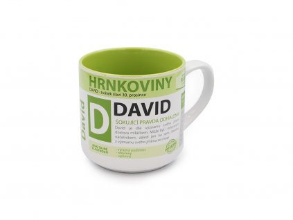 Hrnek se jménem DAVID Hrnkoviny