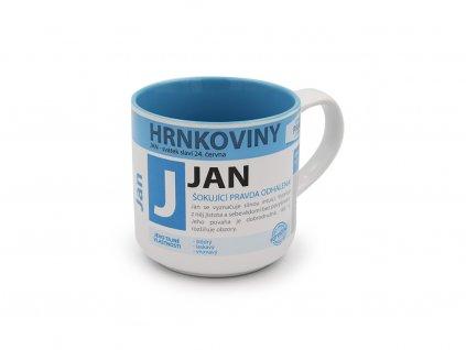 Hrnek se jménem JAN Hrnkoviny