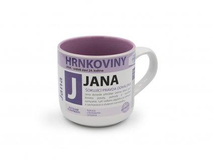 Hrnek se jménem JANA Hrnkoviny