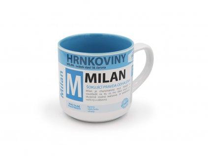 Hrnek se jménem MILAN Hrnkoviny