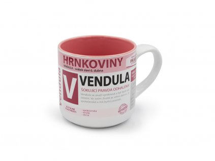 Hrnek se jménem VENDULA Hrnkoviny