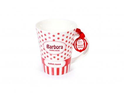 Hrnek se jménem BARBORA Krásný domov