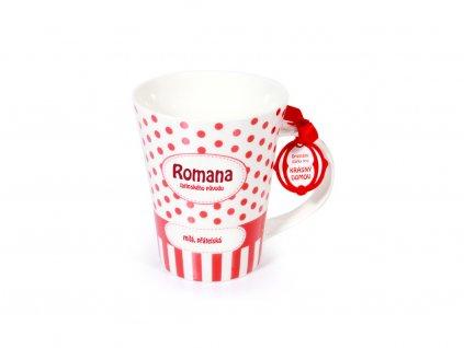 Hrnek se jménem ROMANA Krásný domov