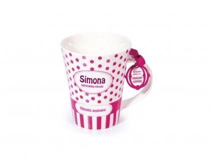 Hrnek se jménem SIMONA Krásný domov